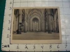 vintage art: print--interior, Santa Maria Novella, FLORENCE