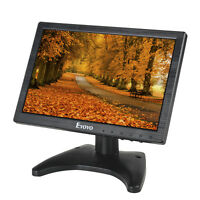 10 Color Ips Lcd Digital Monitor Av/vga/tv/hdmi 1280x800 For Security Cctv Dvd