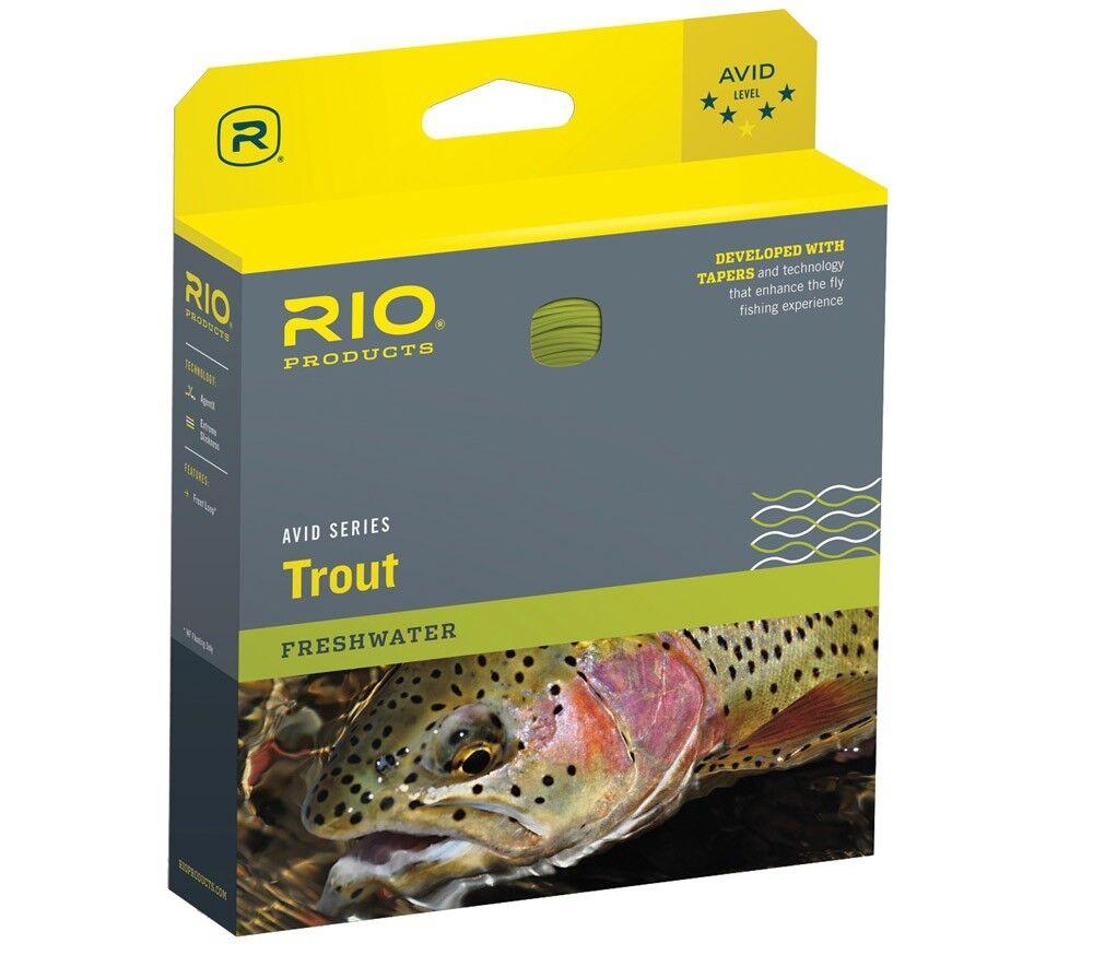 Rio Avid 24ft sinktip volare filoFly Line  300 grain Sinkingwf89