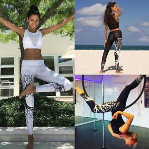 Women-High-Waist-Yoga-Fitness-Leggings-Running-Gym-Stretchy-Sport-Pants-Trousers