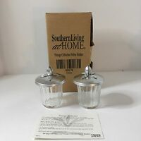 Southern Living At Home Vintage Collection Votive Candle Holders Set Of 2
