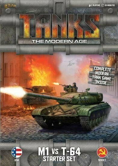 Gale Force Nine - Tanks: the Modern Age - M1 vs T-64 Starter Set - MTANKS01