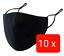 Indexbild 6 - 10 STÜCK Maske Mundschutz 100%Baumwolle Stoff waschbar Nasenbügel Brillenträger