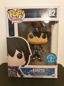 Kirito Blue Sword Exclusive Pop! Funko - Sword Art Online Anime (NEW)
