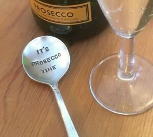 It-039-s-Prosecco-Time-Antique-Silver-Plated-Champagne-Prosecco-Fizz-Keeper-Spoon