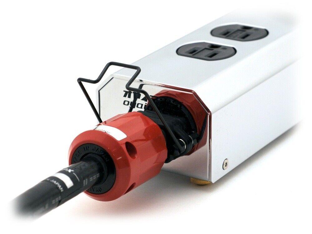 Oyaide PC-LS Cable de alimentación alimentación alimentación del sistema de bloqueo original IEC Conector 25e76b