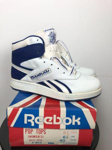 Vintage Deadstock Reebok Pop Tops Sneaker 80s Mens