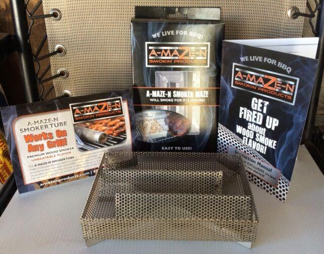A-MAZE-N Smoker 5x8 Maze Wood Pellet Smoke Generator AMAZEN AMAZE LikeTREAGER