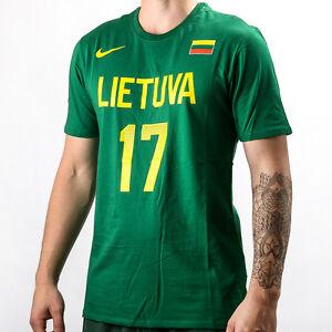 Détails sur Nike Lituanie Jonas valanciunas Replica Tee Shirt T shirt Nouveaux Hommes 820039 302 afficher le titre d'origine