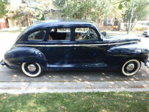 1947 Plymouth restored  $9000.00