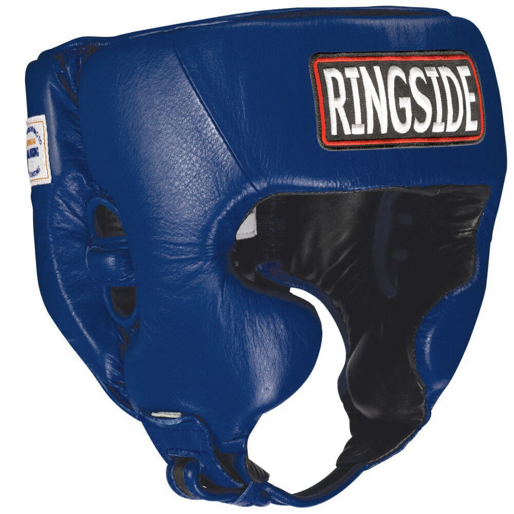 Ringside Competition  Boxing Headgear With Cheeks - bluee  cheapest