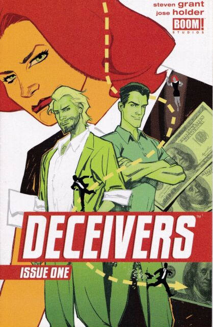 DECEIVERS #1 New Bagged