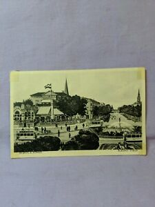 Vintage-Kaiserhalle-Bonn-a-Rhein-German-c-1930-039-s-Post-Card-5-5-034-x-3-5-034-B-W