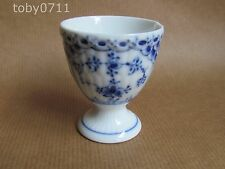 ROYAL COPENHAGEN IMMORTELLE BLUE FLUTED LACE EGG CUP  (Ref714)