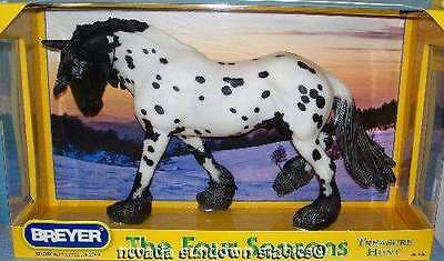 Breyer Model Horses 2010 Season Horse Winter Appaloosa