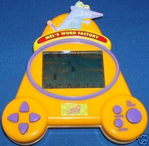 BLASTER-ELECTRONIC-HANDHELD-MEL-039-S-WORD-FACTORY-TOY-GAME-CHILDRENDS-EDUCATIONAL