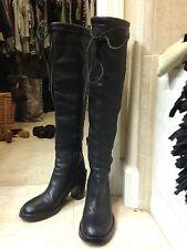 ANN DEMEULEMEESTER OTK leather boots Italian size 38