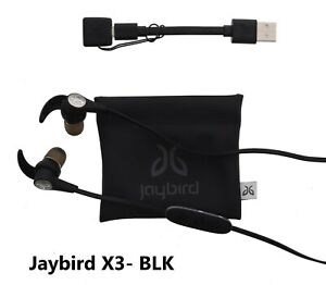 44fb82f2544 Image is loading Jaybird-Headphones-X3-Wireless-Bluetooth-Sports-USED -EXCELLENT-