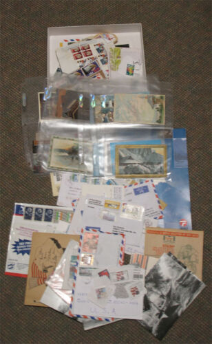 34 - Nice Lot of Postcards (Many Older), Used US & Foreign Covers, Commemorative