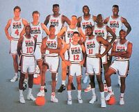 1992 Olympics Dream Team Nba Basketball 8x10 Photo Jordan + Free Shipping 1