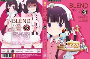 ANIME DVD~Blend S(1-12End)English subtitle All region FREE SHIPPING+ ... 446578a96dc8