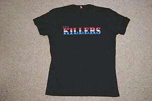 8b5ab60f THE KILLERS COLOUR LOGO AUTUMN EUROPE TOUR 2007 T SHIRT NEW OFFICIAL ...