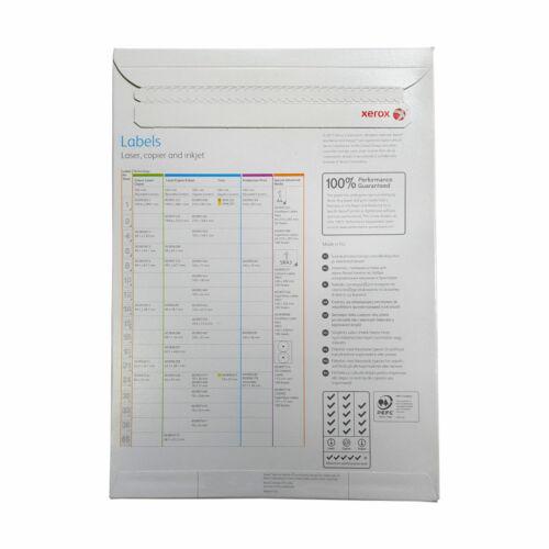 Xerox Etiketten 70x37mm Adressaufkleber 70x37 003R97408 100 Blatt DIN A4 70g