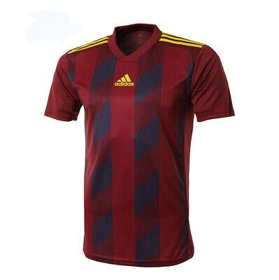 adidas Striped 19 Jersey - Men's Soccer - Burgundy - DP3203
