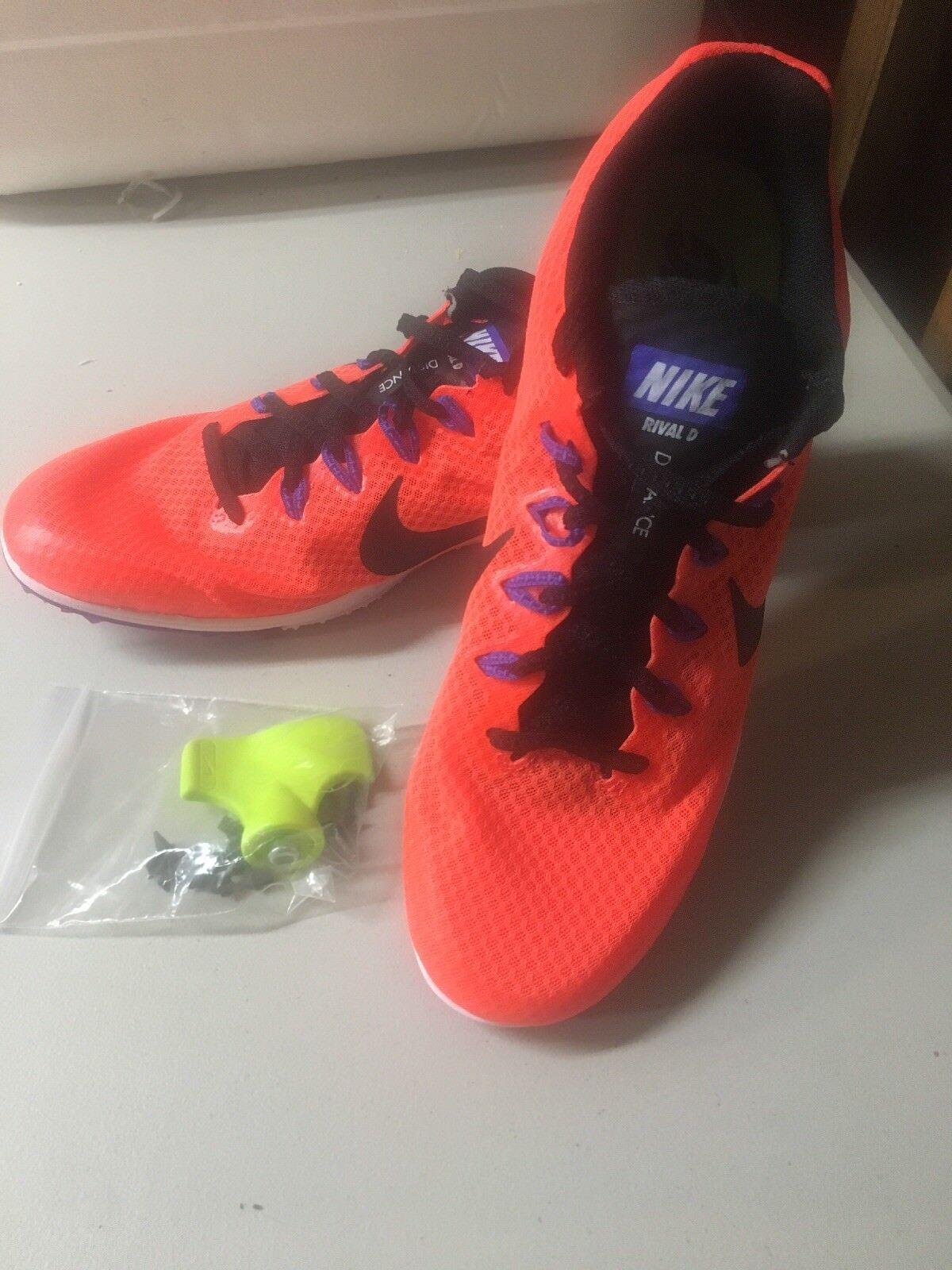 Nike Zoom rival D hombre Track comodo Field Spikes Sprint naranja comodo Track zapato 240198