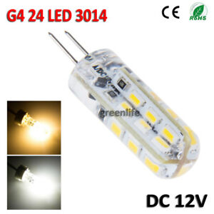 2X-3W-G4-LED-24-SMD-LED-Spot-Light-Corn-Bulb-Lampe-DC-12V-Warm-Cool-White
