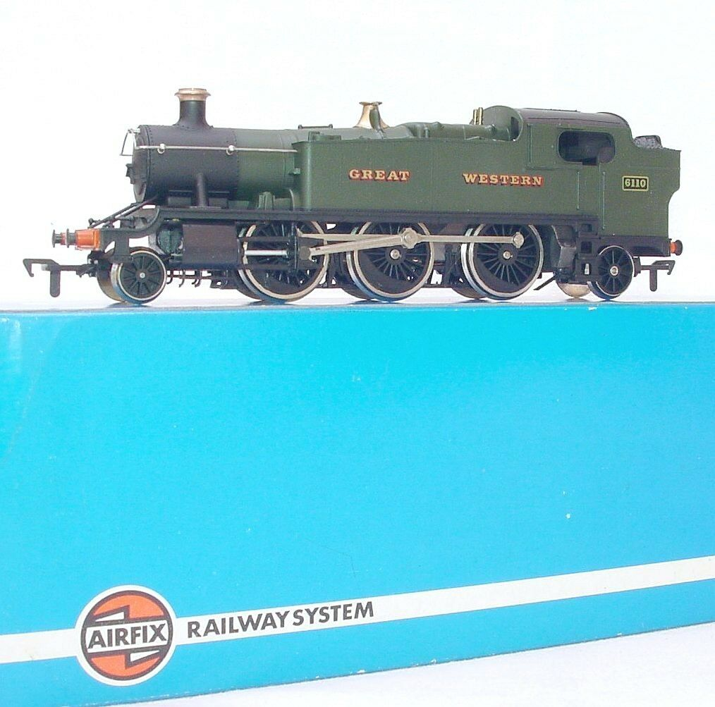 Airfix OO 1 76 Great Western Railways 262 PRAIRIE TANK Ssquadra LOCOMOTIVE MIB