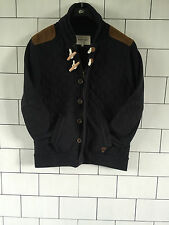 RIVER ISLAND URBAN VINTAGE DUFFLE QUILT STYLE JACKET COAT SIZE UK MEDIUM