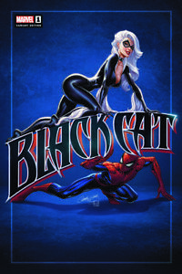 Black Cat #1 J Scott Campbell Exclusive Spider-Man Variant In Hand Shipping NOW