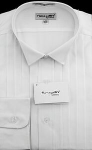 100/% Pima Cotton Wing Collar Tuxedo Shirt in the Gift Box
