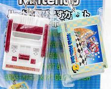 Nintendo Game Console Miniature Figure Key Chain Famicom & Super Mario 3 NES