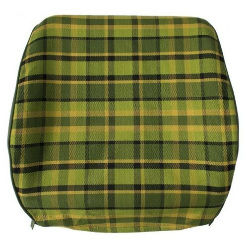 Westfalia Late Bay Front Seat Open Back Cover in Green Plaid 1975-1979 C9253G