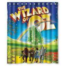 Brand New Wizard Of Oz Shower Curtain 60 X 72 Inch