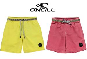 New-O-039-NEILL-Boys-Swimming-Shorts-Junior-Waterproof-Sun-Board-Pockets-9-13-Yrs