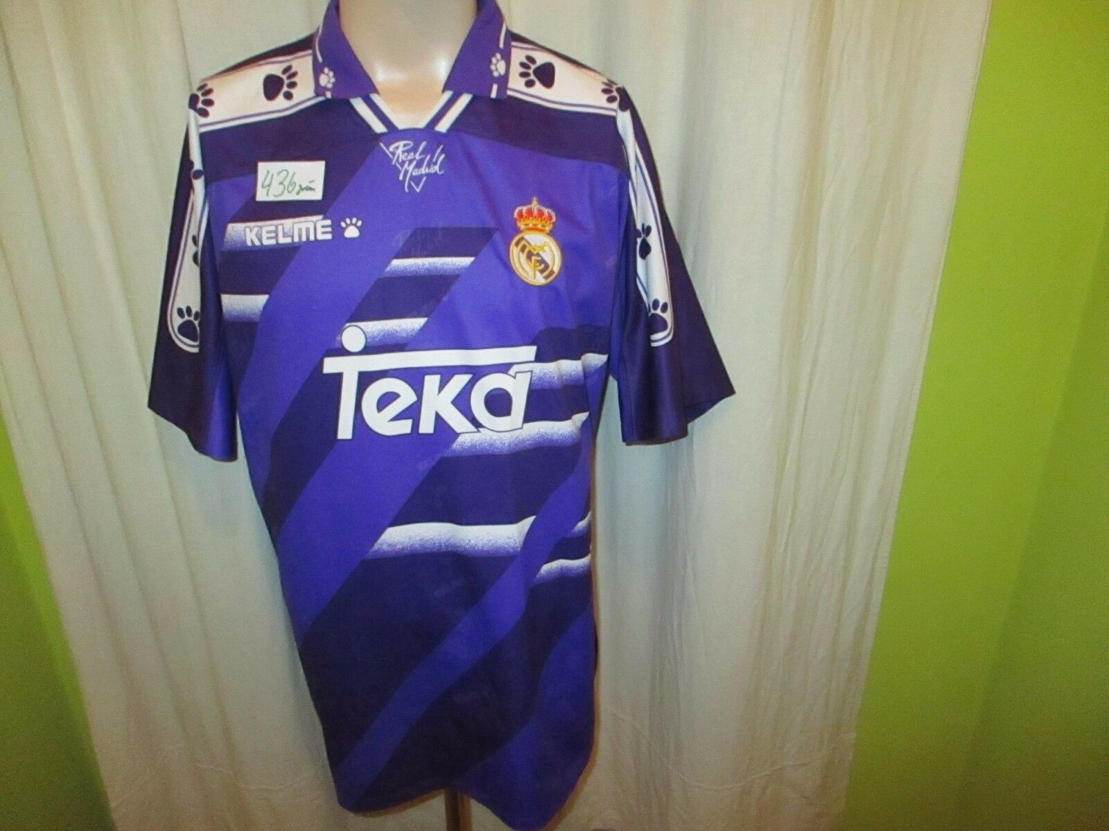 Real Madrid Original Kelme Auswärts Trikot 1994-1996
