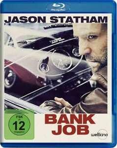 Banca job [Blu-Ray/Nuovo/Scatola Originale] retrokrimi nello stile della 70er con Jason Statham, SAFFRO