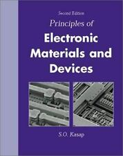 Principal Election Engineer Materials Devices by Safa O. Kasap (2001, Hardcover)