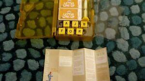 Cranium Favoris-lettre Line-up Great Learning Game-afficher Le Titre D'origine MatéRiau SéLectionné