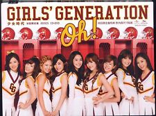 Girls' Generation SNSD: Oh (2012) JAPAN CD DVD TAIWAN