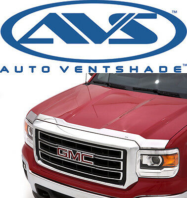 AVS 622075 Aeroskin Bug Shield Chrome Hood Protector 2014-2016 GMC Sierra 1500