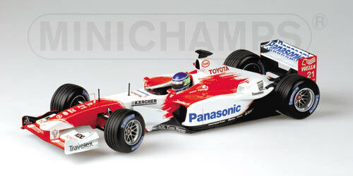 Minichamps Panasonic Toyota Racing TF103 2003 1 18 Christiano da Matta (BRA)