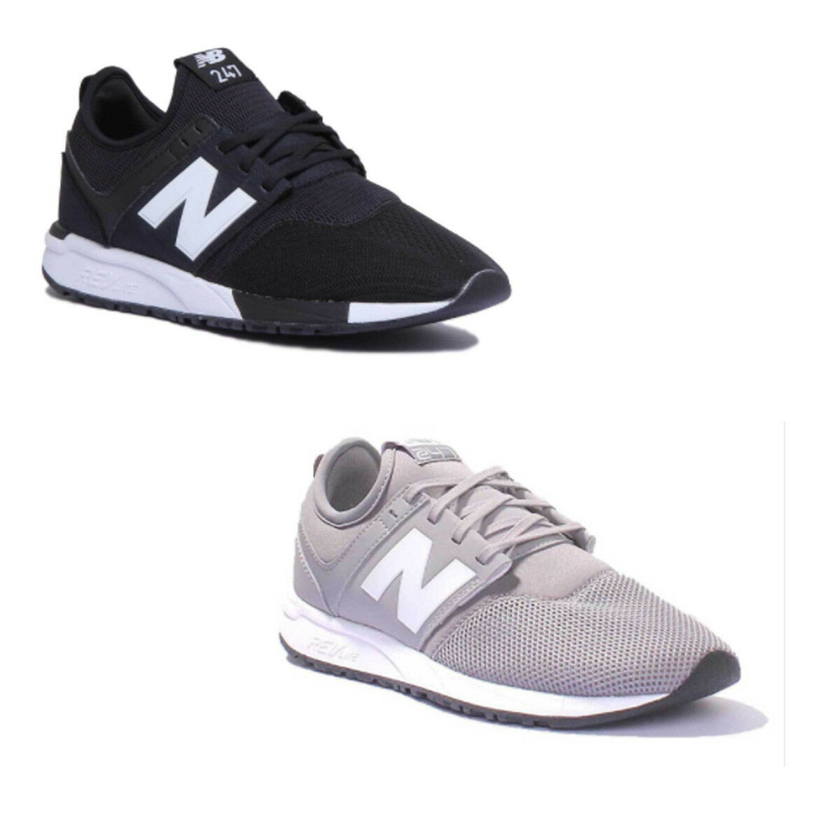 New Balance MRL 247 Classic homme Mesh  Gris  blanc Trainers