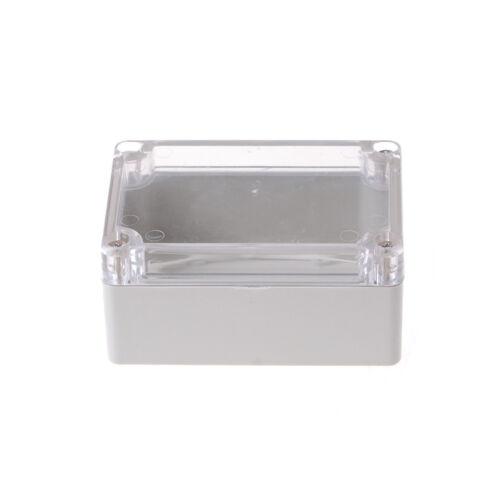 100x68x50mm wasserdichte Abdeckung klar elektronische Projekt Box Gehäuse FallAB