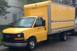 2005 Chevrolet Express 3500 Cube Van 16 ft