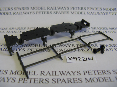 Diligente Hornby X9221w Q1 Tender Chassis Bottom Weathered