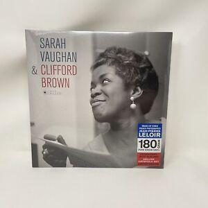 Sarah-Vaughan-amp-Clifford-Brown-Vinyl-Record-LP-Jazz-Images